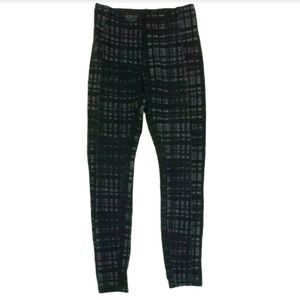 Lysse Womens Pants Stretch Leggings Plaid Skinny